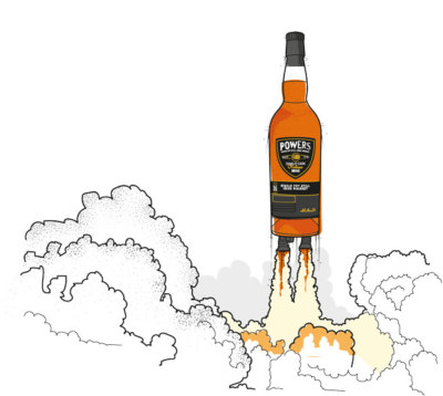 Illustration of Powers Whisky