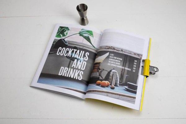 Indy Cafe Cookbook cocktails and drinks