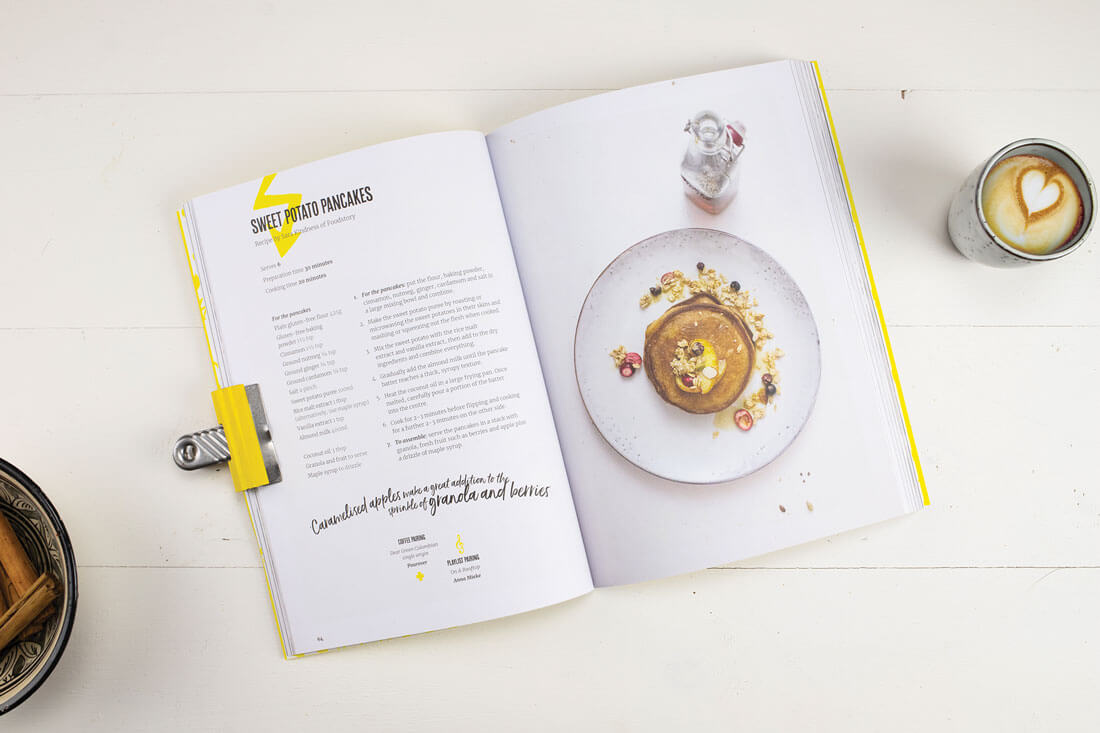 Indy Cafe Cookbook sweet potato pancakes