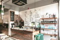 Speciality coffee shop bar and interior