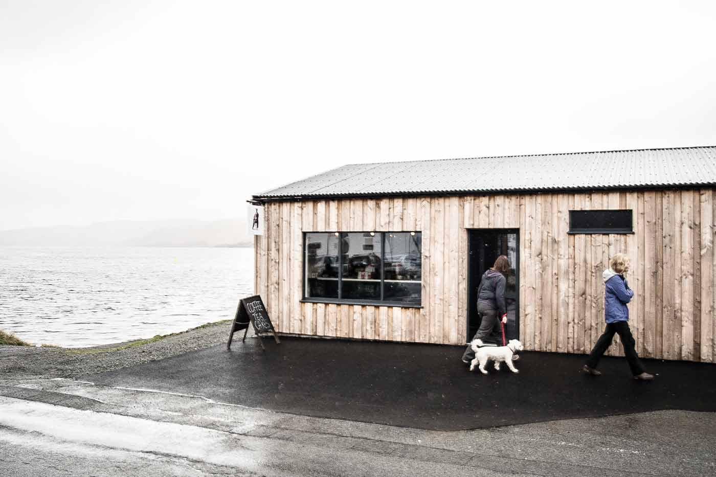 Caora Dhubh Coffee, Isle of Skye